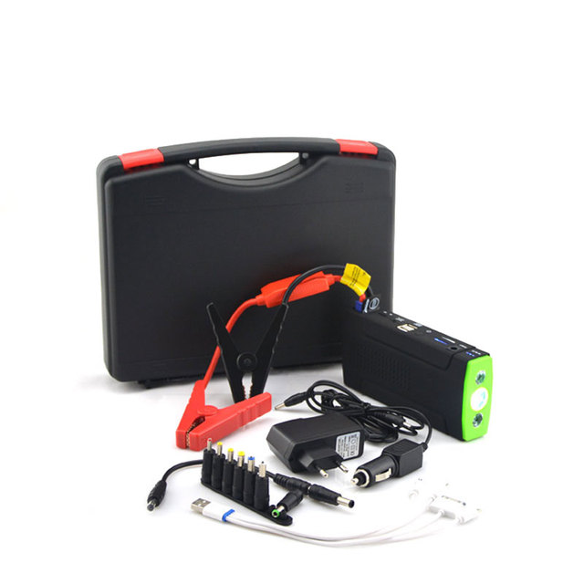 Good quality mobile portable mini jump starter car emergency power bank battery multi-function jump starter with LED Llight