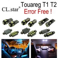 17pc X Error Free VW Volkswagen Touareg T1 T2 LED Interior Light Kit Package 2004 2009