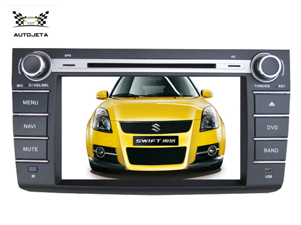 4UI intereface combined in one system CAR DVD PLAYER FOR suzuki swift 2004 2005 2006 2007 2008 2009 2010 bluetooth gps navi MAP