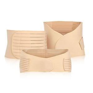 Image 5 - 3 יח\סט דוגמנות חגורת גוף ומעצב מותניים מאמן התאוששות לאחר הלידה בטן חגורת גוף Shaper ירך Cincher בטן קלסר 3 גדלים
