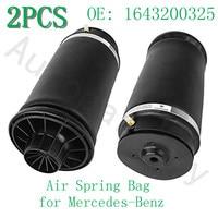 2PCS/LOT For Mercedes Benz W164 ML Class Rear Left + Right Air Suspension Pressure Bag Part # 1643200225 1643200325 1643200425