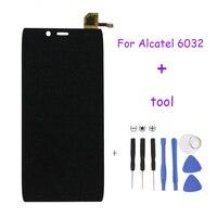 Высокое качество для Alcatel One Touch Idol Альфа OT6032 6032 ЖК-дисплей Экран Дисплей с Сенсорный экран планшета Ассамблеи Бесплатная доставка