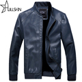 Motorcycle Leather Jackets Men Autumn Winter Leather Clothing Men Leather Jackets Male Business casual Coats Brand 1389