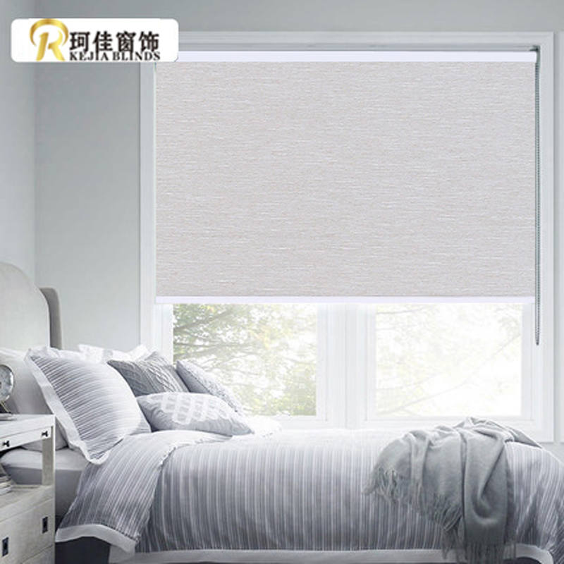 Free Shipping And Hot Sale Transparent Blackout Roller Blinds Curtain For Window In Living Rooms Made