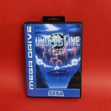 Undead Line 16 bit MD card with Retail box for Sega MegaDrive Video Game console system