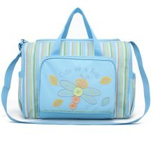 Hot Sale Fashion Nappy Bags Large Capacity Diaper Bag With Diaper Cusion Colorful Mummy Bag