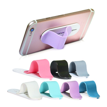 Portable Phone Holder Magic Finger Ring Bracket Multi Use Slidable Frame Stand