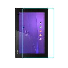 De alta Calidad Para SONY Xperia Tablet Z2 SGP512 plana película protectora 511541 película de vidrio templado de cine