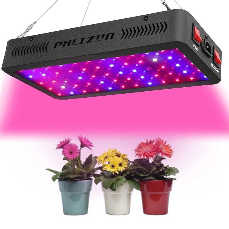Phlizon 600W 900W 1200W led élèvent des lumières légères meilleur pour la vente plante lampe de culture d'intérieur plein spectre lampes plantes led en croissance
