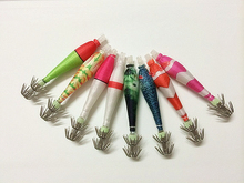 2014 New Japan Fish squid cloth roll hook lure luminous soft + free shipping