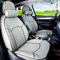 ПУ кожаные сиденья автомобиля custom fit для Mini Clubman автомобилей чехлы & поддержка черный подушки сиденья автомобиля аксессуары для интерьера