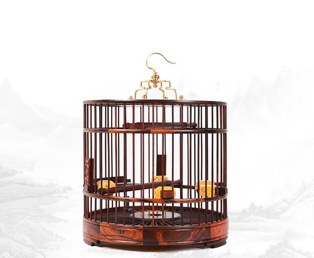 Laos palissander vogelkooi vogel benodigdheden nest thuis decoratie