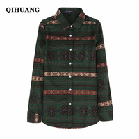 2016 Luopei Women S Shirts And Blouses Long Sleeve Turn Down Collar Cotton Casual Tops