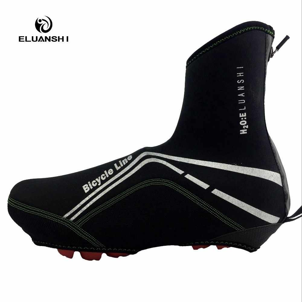 winter waterproof neoprene overshoes rainproof cycling shoe cover resistant protector shoes mtb rain bike bicycle cubre