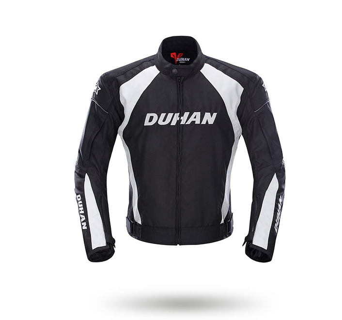 DUHAN Mens Motorcycle Jacket Windproof Racing Jacket Clothing Blouson Moto With Five Protector Guards Motorbike JacketDUHAN Mens Motorcycle Jacket Windproof Racing Jacket Clothing Blouson Moto With Five Protector Guards Motorbike Jacket