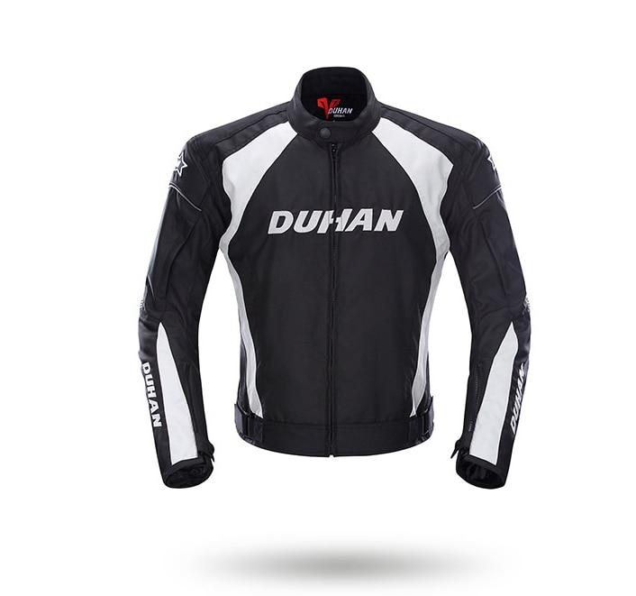 где купить DUHAN Men's Motorcycle Jacket Windproof Racing Jacket Clothing Blouson Moto With Five Protector Guards Motorbike Jacket по лучшей цене