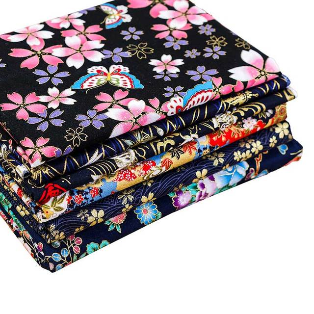 Cotton Fabric Japanese Style 1