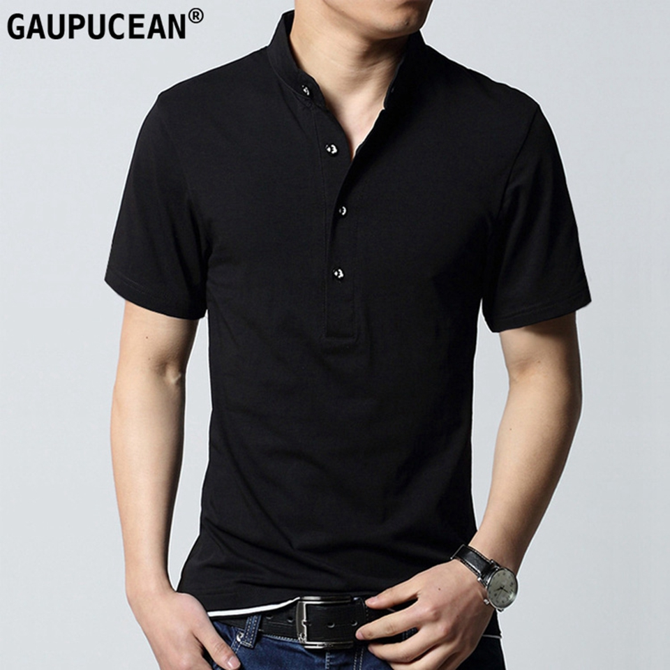 Quality Fashion Cotton Man   POLO  -shirt Short Sleeve Turn Down Collar Male   Polos   Casual Patchwork Summer Black Men   Polo   Shirt