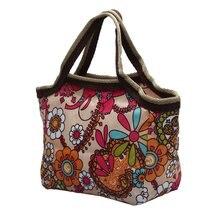 Лидер продаж модные женские туфли модные большие сумки Tote Race цветок красный