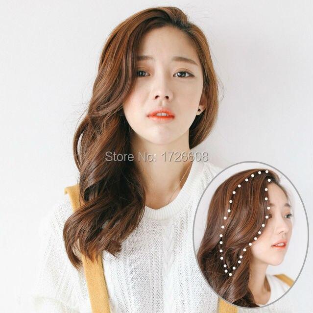 Long Side Bang For Women Hot Korea Style Seamless Oblique Bangs Clip