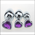 Pink 3pcs/lot Sexy toy Silicone Anal Plug Adult Sex Toys For Women Man Gay Anal But Plug Set Butt Plugs Sex Products H9299
