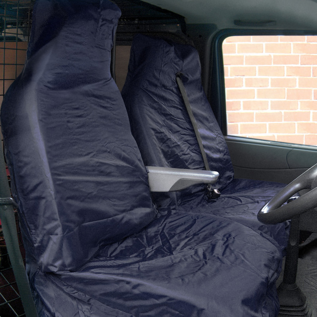 AUTOYOUTH Navy Blue Waterproof Car Seat Cover New Arrival 2PCS Front Protector