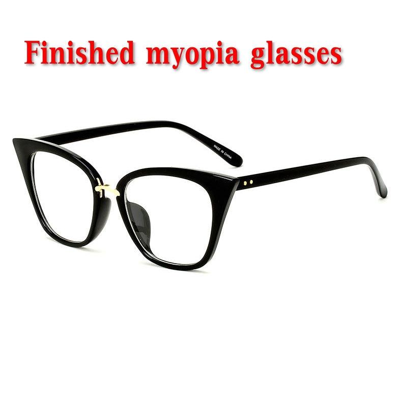 Mincl 2019 Dioptrien-1,0-1,5-2-2,5-3-3,5-4 Marke Designer Fertigen Myopie Gläser Frauen Männer Kurzsichtig Brillen Nx Brillenrahmen Damenbrillen