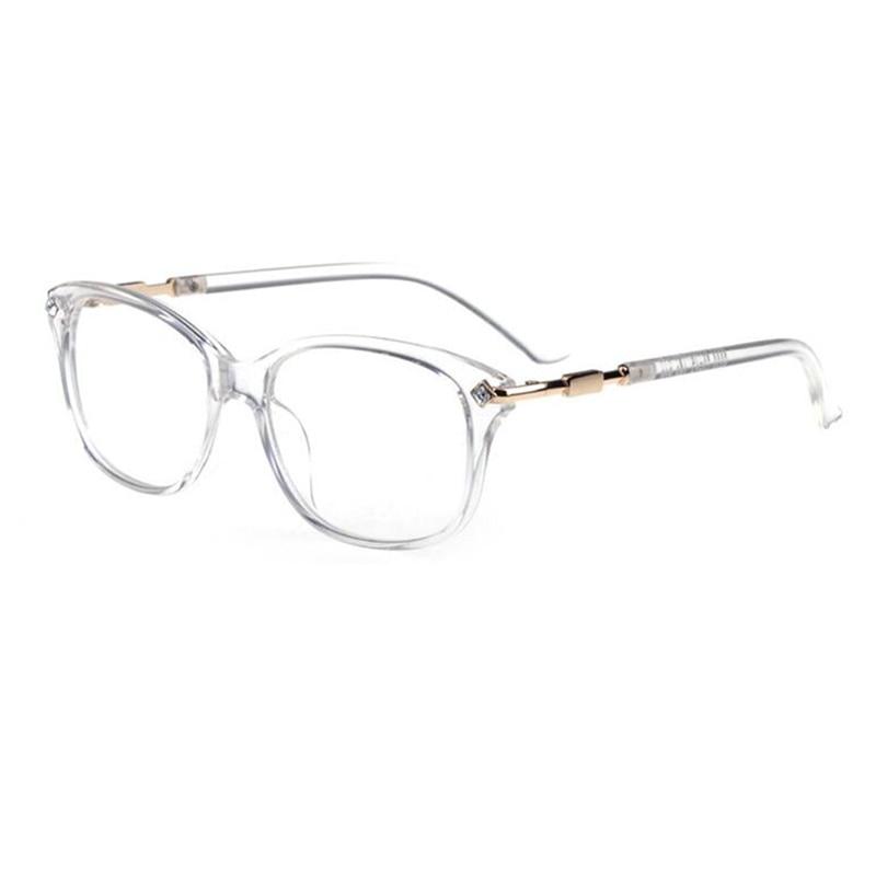 a030a5bac6b4 Vintage Transparent Clear Eyeglass Frames Retro Full Rim Glasses Eyewear Rx  able Myopia come with clear