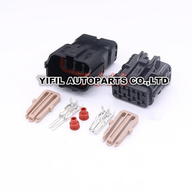 5sets lot 8 pin way male female automotive light fuse box ket style rh aliexpress com
