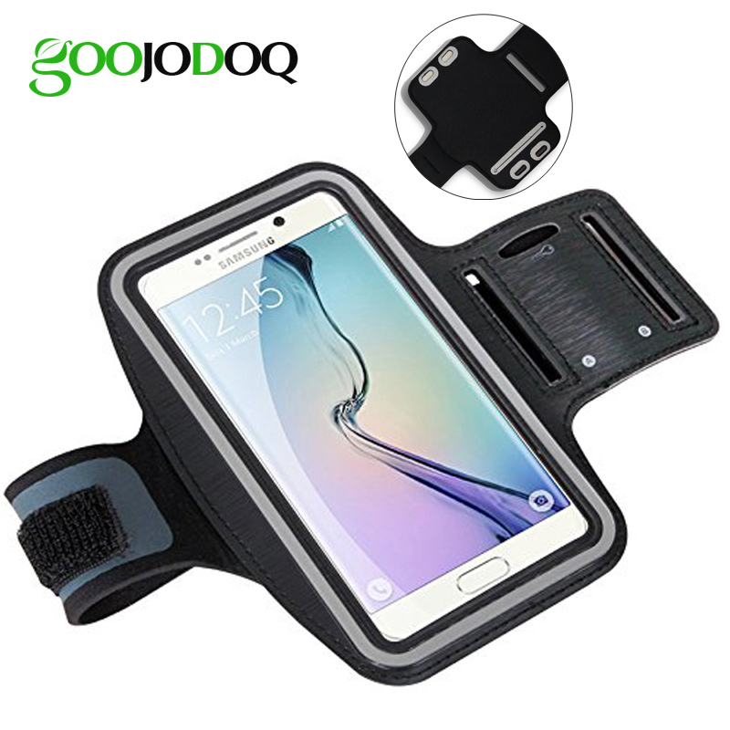Waterproof Sport Gym Running Armband Case For Samsung Galaxy S7/S6/S5/S4/S3 A5 A3 Mobile Phone Pouch Bag Holder Belt Arm Band