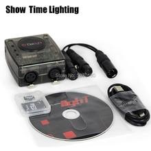 Professional DMX software Daslight DVC4 DMX Software controller powerful console for Disco DJ KTV party USB Lighting Interface недорго, оригинальная цена