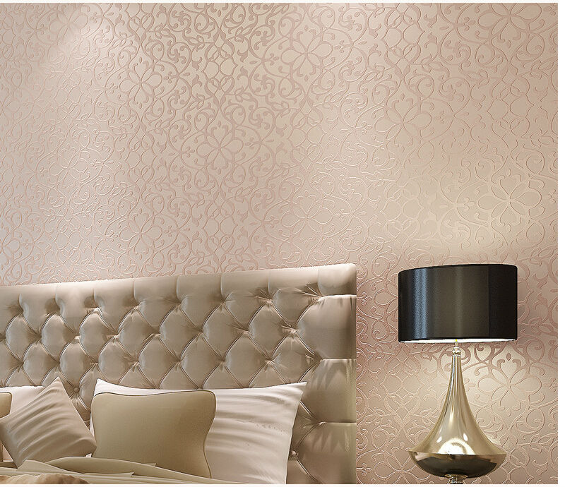 Papel de parede floral imported chinese 3d wallpaper roll for Waterproof wallpaper for walls