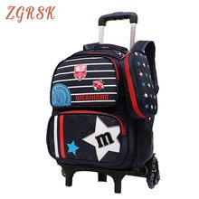 Kids Rolling School Bagpack Children Trolley School Backpacks Girls Wheeled School Back Pack Bags Oxford Travel Bag Backpacks цена 2017