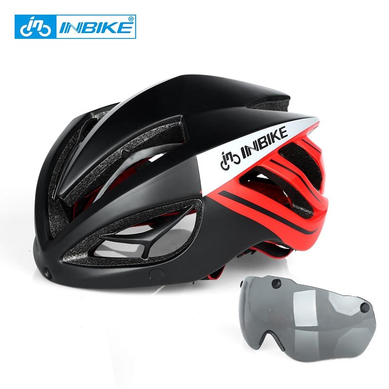 INBIKE Bike Helmet Bicycle MTB Road Helmet Cycling Helmet Bike Accessory casco capacete ciclismo kask  Mountain Bike Equipment