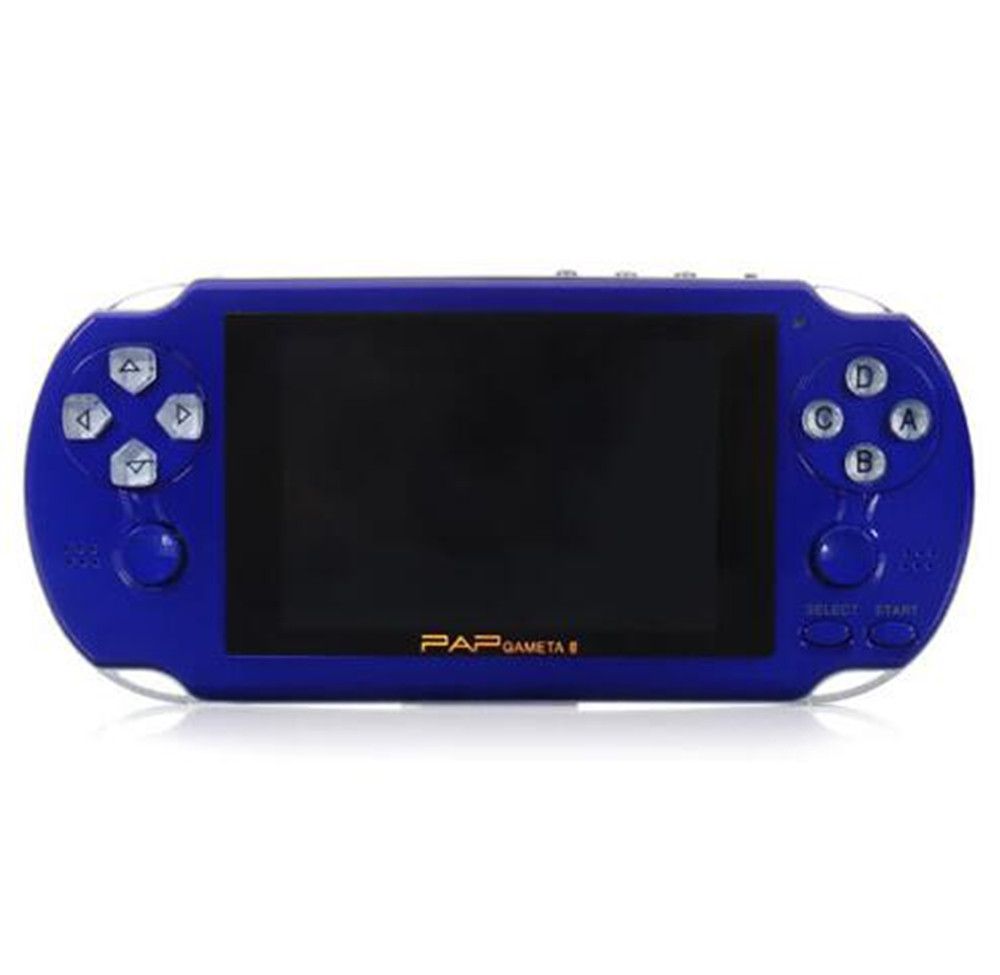 New PAP Gameta II 4.3 Inches 64 Bit Vedio Gaming Console Support wireless controller MP5