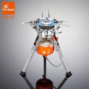 Газовая плита Fire Maple, мощная портативная газовая горелка из нержавеющей стали для приготовления пищи на открытом воздухе, FMS-108