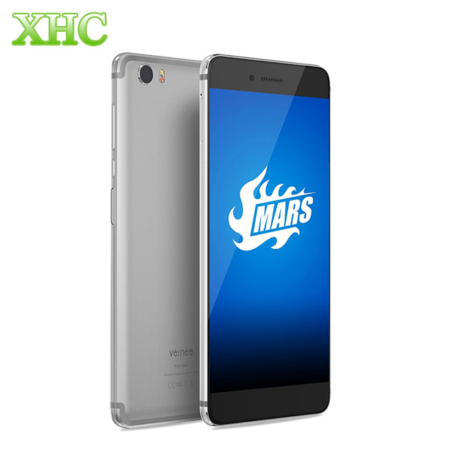 vernee Mars 4GB +32GB LTE 4G Mobile Phone 5.5 inch 1920*1080 Android 6.0 MTK6755 Octa Core 2.0GHz Fingerprint ID Cell Phones