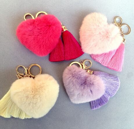 Pom Pom Leather Rabbit fur keychain plush key chain doll ... Pink Rabbit On Golf Cart on clicgear 2.0 push cart, blue cart, clicgear 3.5 push cart, pink trailer, pink storage chest, pink shoes, pink bus, collapsible shopping cart, pink 4 wheeler, beach cart,