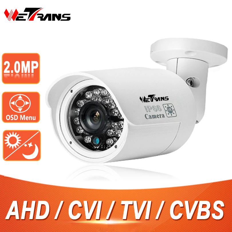 CCTV Security Camera HD 1080P Bullet SONY CMOS 3.6mm Lens 20m Infrared Night Vision IP66 Waterproof HDCVI Kamera HD TVI Camera ip varifocal lens bullet 1080p camera h 264 2 0mp full hd infrared color sony cmos bullet cctv camera wtih onvif2 4 night vision