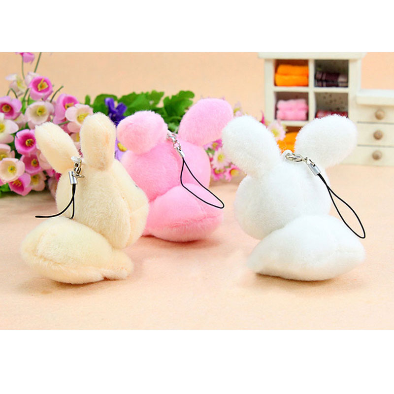 b68b772ee8d 50PCS LOT Kawaii Mini Bunny Plush Toys Rabbit Soft Stuffed Animal Toys  Small Pendant By Phone Bags Gifts For Wedding 01902-in Stuffed   Plush  Animals from ...