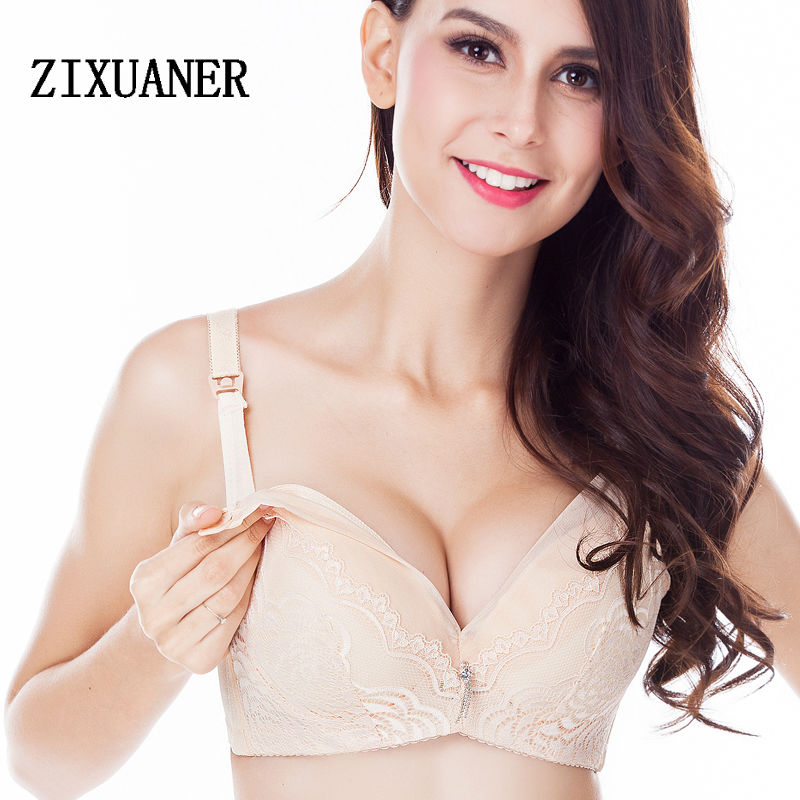8503aa702d8 Sexy Breast fedding maternity bras camisole push up for pregnants underwire  lace soft nursing bras anti sagging gravidas cup B C-in Maternity   Nursing  Bras ...