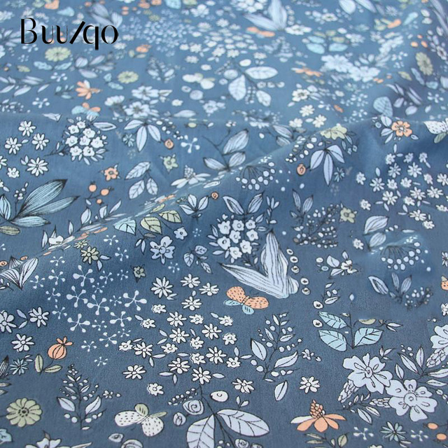 buulqo Printed Kids Cotton fabric baby quilting cotton twill fabric by meter DIY sewing craft cotton material 6