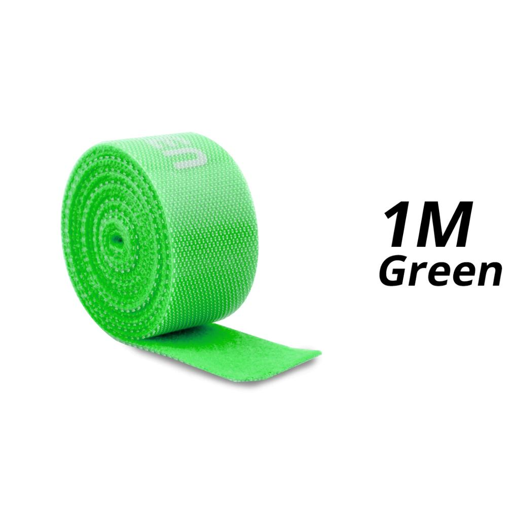 1m Green Velcro