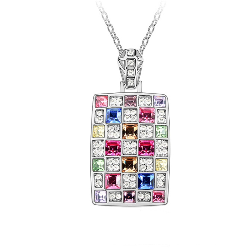 High quality necklaces pendants crystal from swarovski for Vintage costume jewelry websites