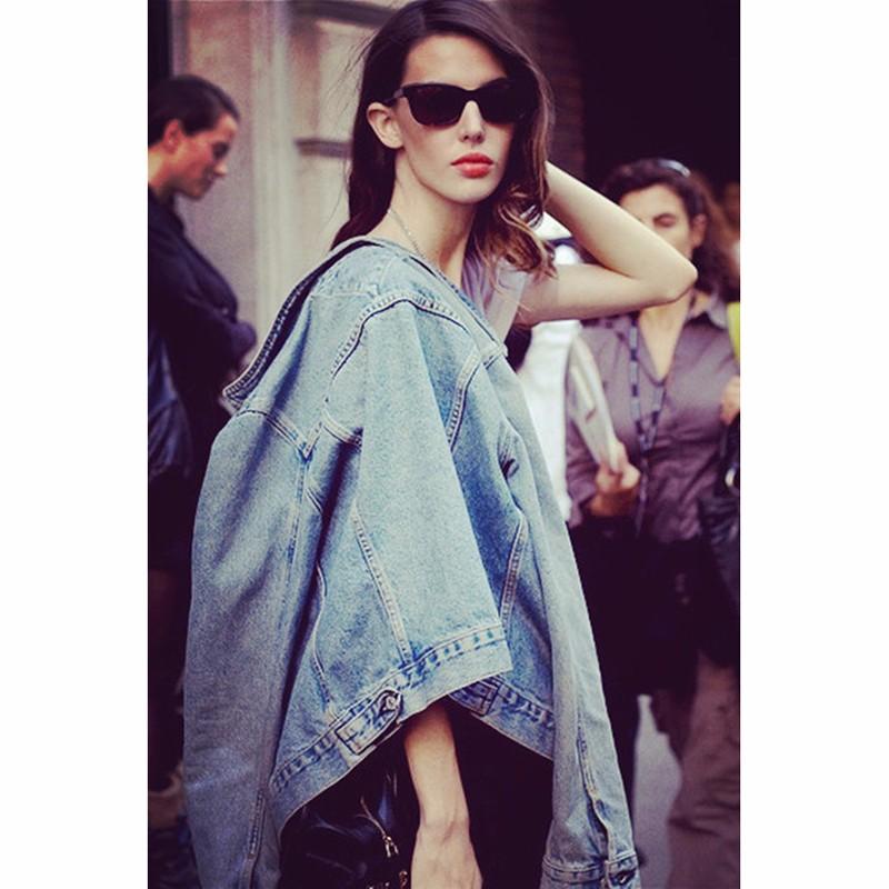 Women Jean Jacket Hot Sale Casual Popular Autumn Regular Coat Korea Girls Loose Outwear Simple Fashion Women\'s Clothing Cheap (7)