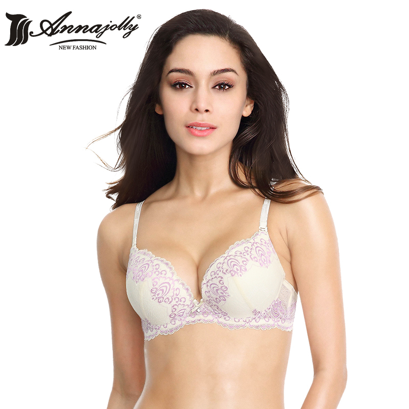 New Arrival Lace Bras Brand Annajolly Women Sexy Lingerie ...