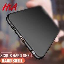 H & A di Lusso Cassa Del Telefono Del PC Per il iPhone X 6 6s 8 7 Plus Ultra Sottile Sottile Della Copertura per il iPhone 7 8 6 6s Plus X Dura Protettiva Custodie Borsette