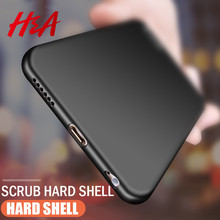 H & lüks PC telefon kılıfı iPhone için kılıf X 6 6s 8 7 artı Ultra İnce İnce kapak iPhone 7 için 8 6 6s artı X koruyucu Hard case kabuk