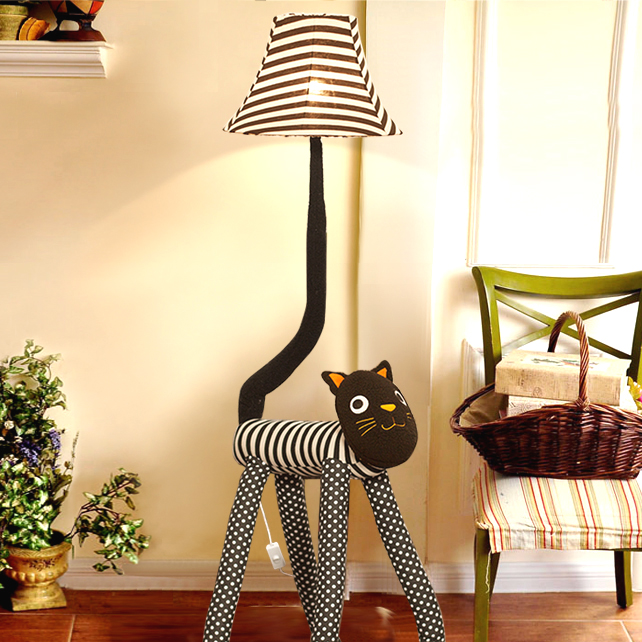 Free Shipping Big Sale!Cartoon Child Bedroom Floor Lamp