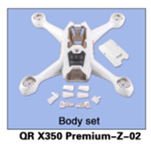 Walkera QR X350 Premium-Z-02 Body Set for Walkera QR X350 Premium Helicopter qr x350 pro z 06 brushless motor spare parts for walkera qr x350 pro